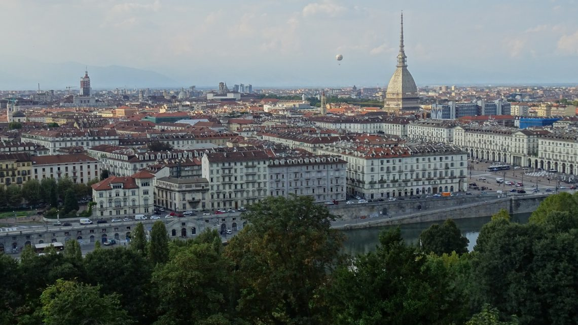Pinerolese DOC appellation lies around the town of Torino - Italy